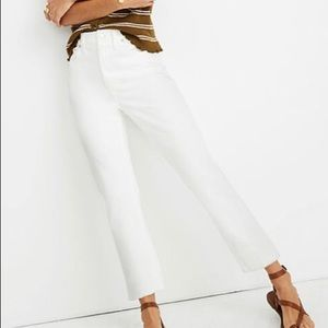 NWT Madewell High Rise Slim Jean